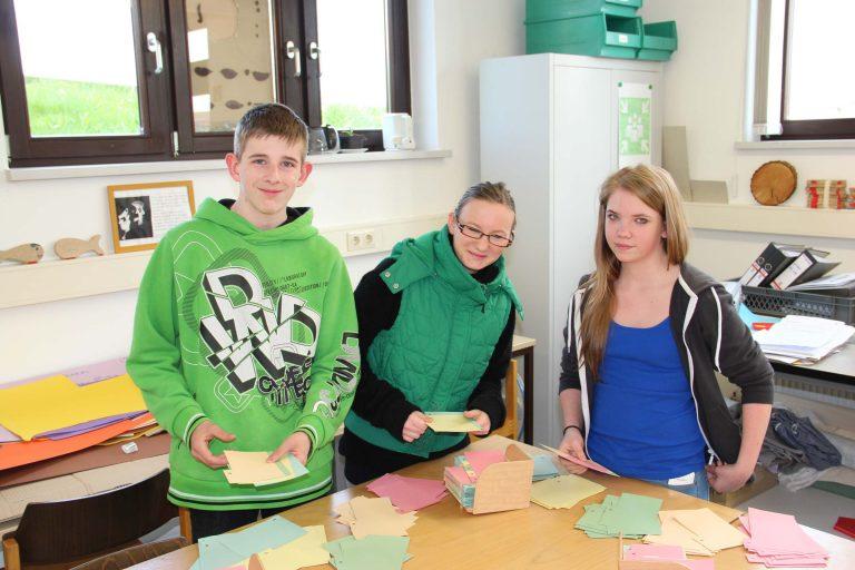Schüler*innen erhalten im Berufsbildungswerk Südhessen einen Einblick in den beruflichen Alltag mit dem Berufsorientierungsprojekt BOP