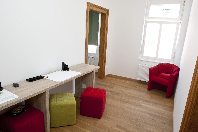 Zimmer in der Villa Kosmos Jugendhilfe bbw Südhessen