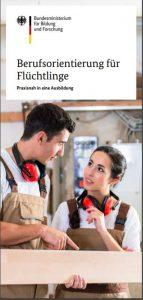 Flyer Berufsorientierung für Flüchtlinge