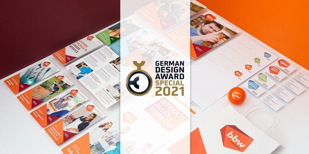 Agentur DBF gewinnt Preis für bbw Südhessen Corporate Design