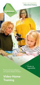 Flyer Video-Home-Training Kinder- und Jugendhilfe bbw Südhessen