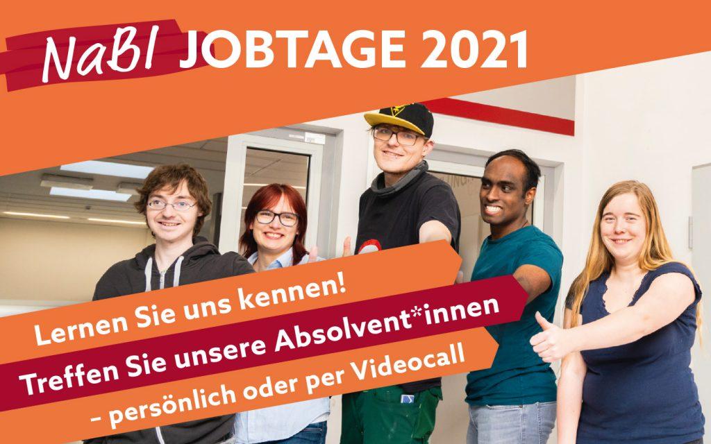NaBI Jobtage 2021 - Termin im bbw Südhessen